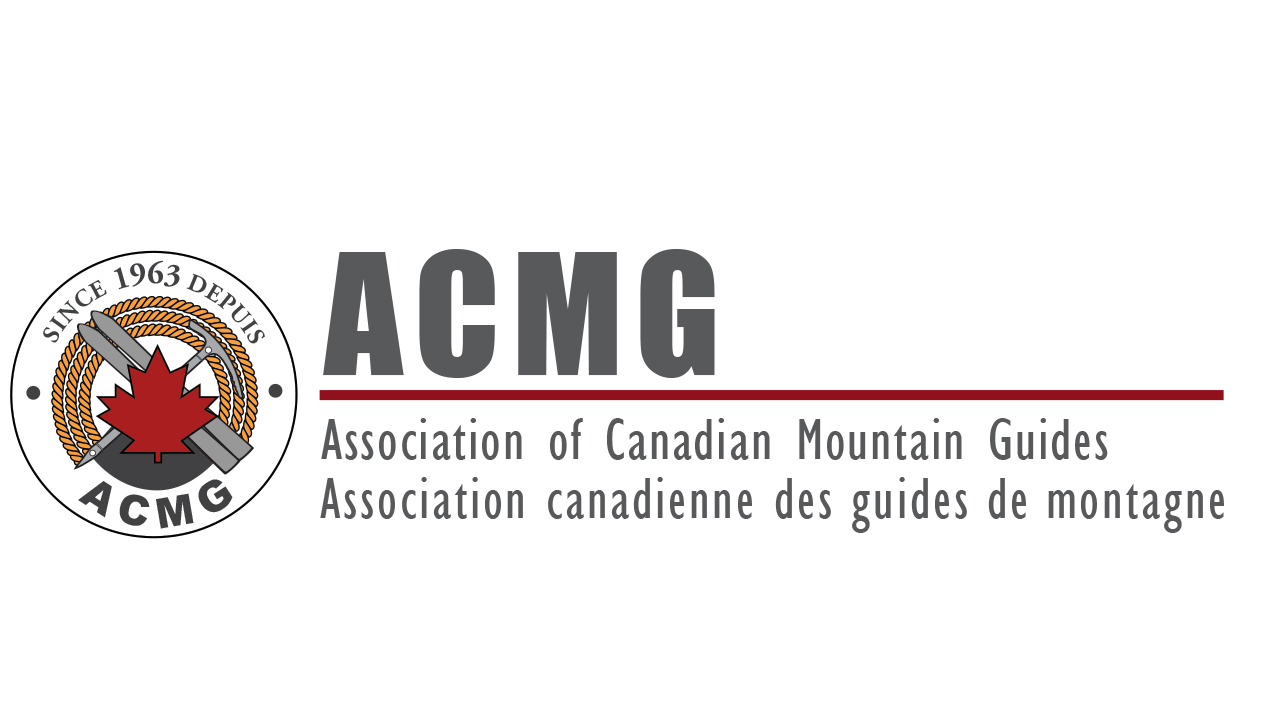Association of Canadian Mountain Guides ACMG brand mark long