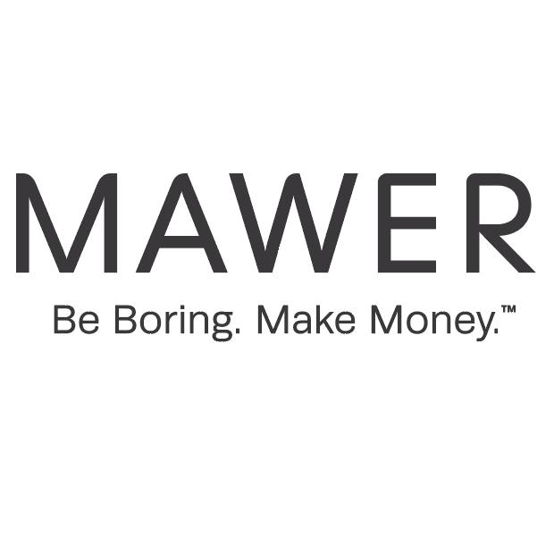 Logo for Mawer.