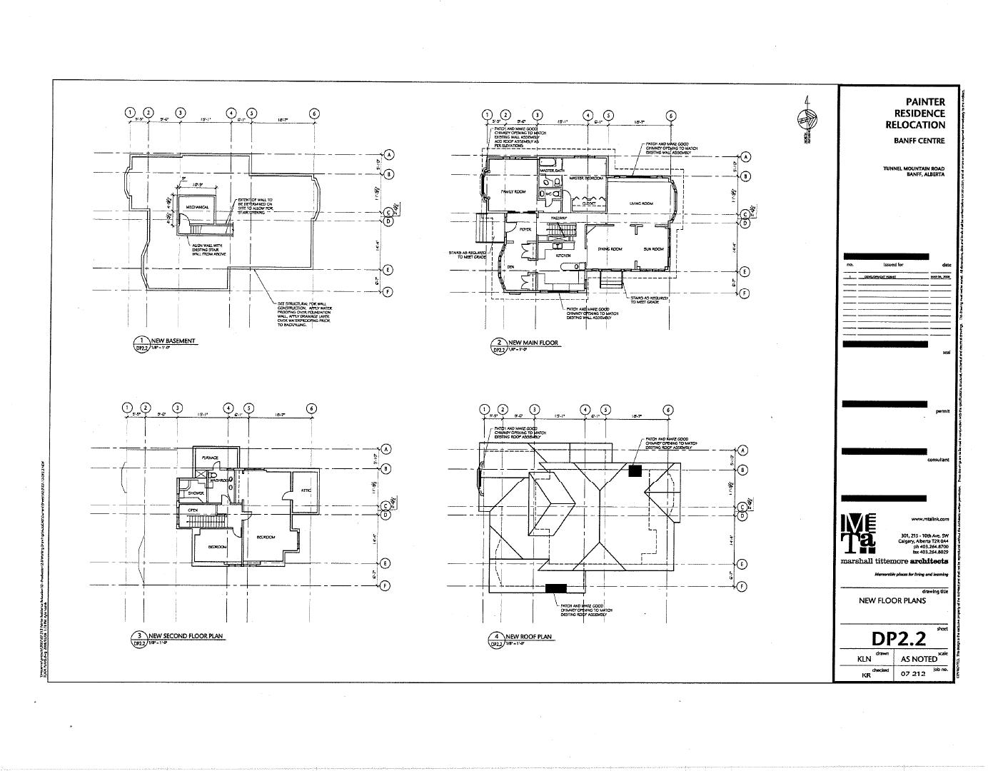The Painter House Floorplan
