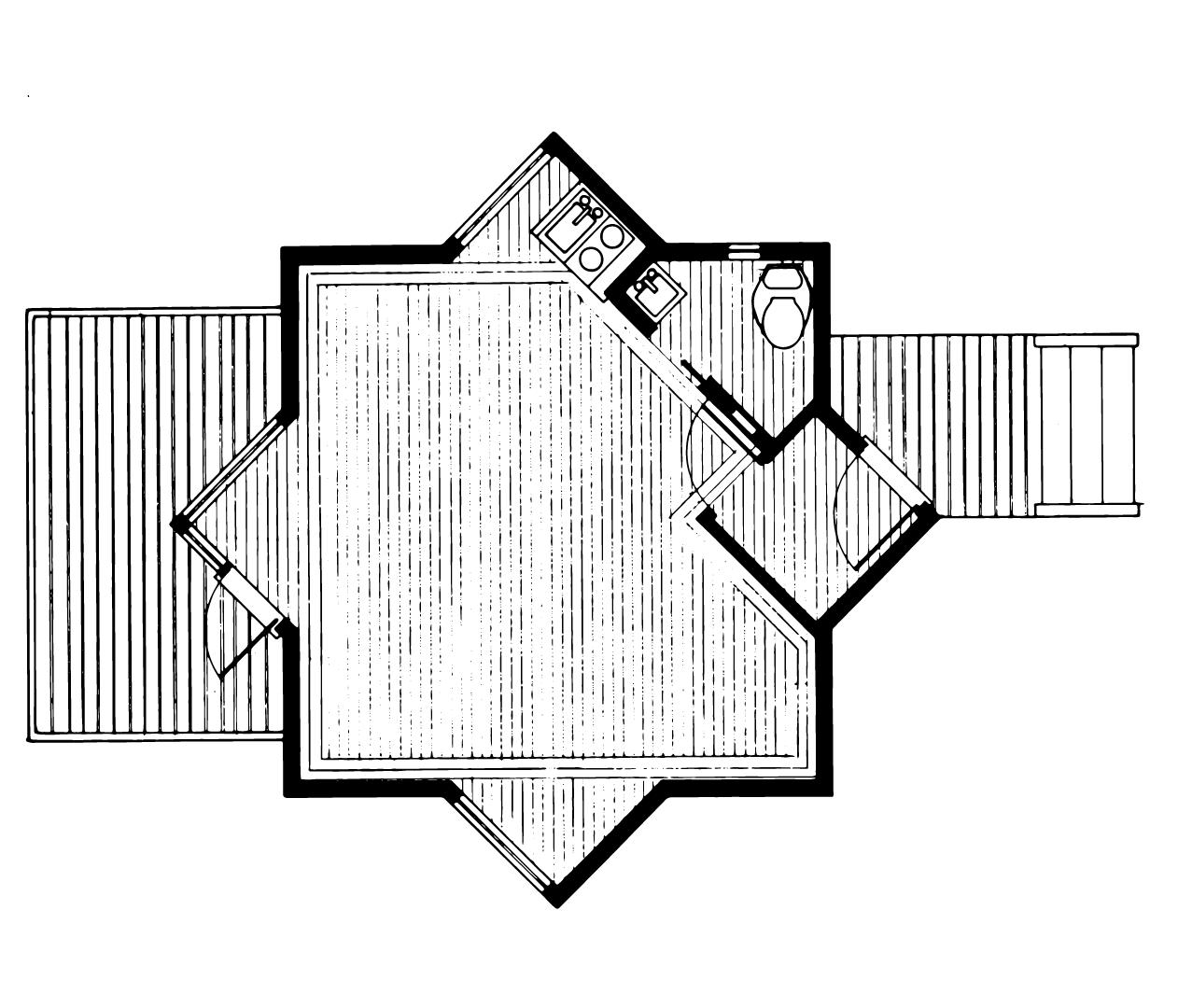 The Davidson Studio Floorplan