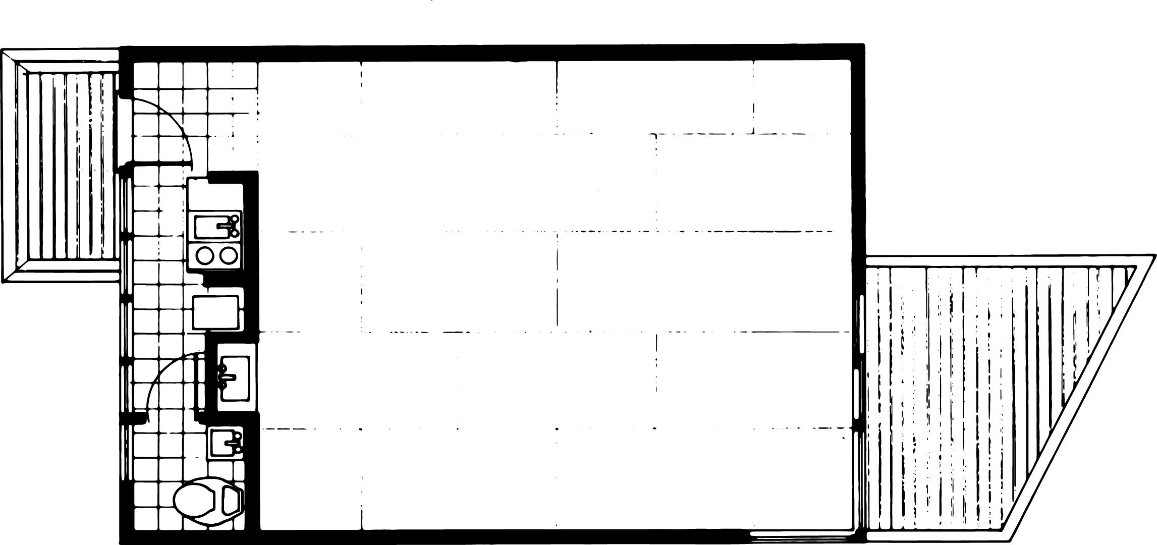 The Thom Studio Floorplan