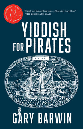 Book cover for Gary Barwin's Yiddish for Pirates