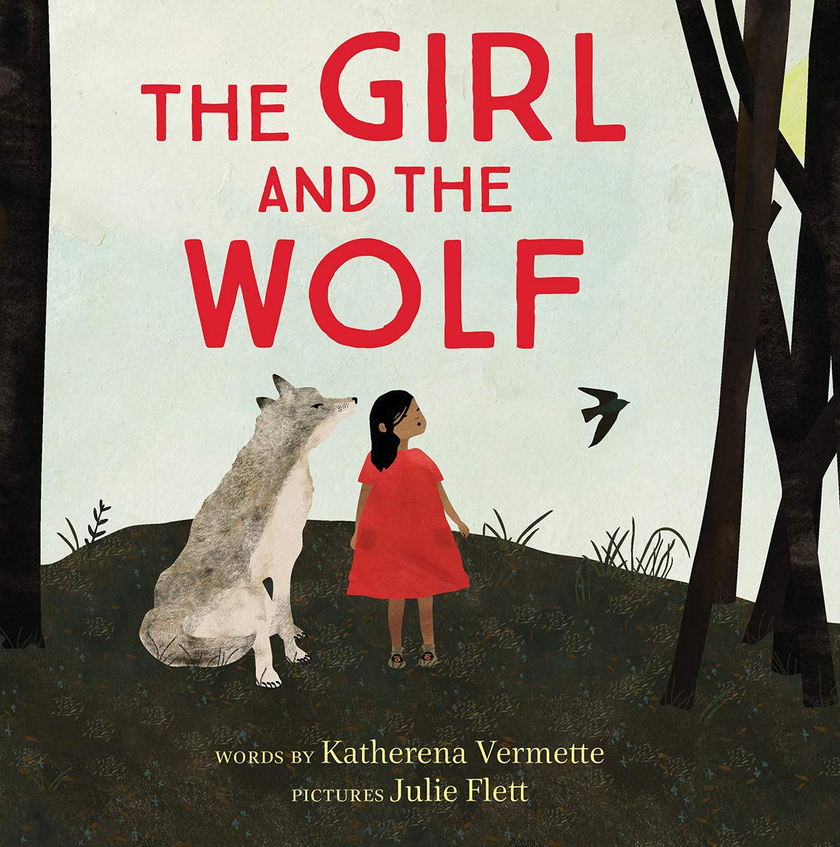 Book Cover of The Girl and the Wolf by Katherena Vermette