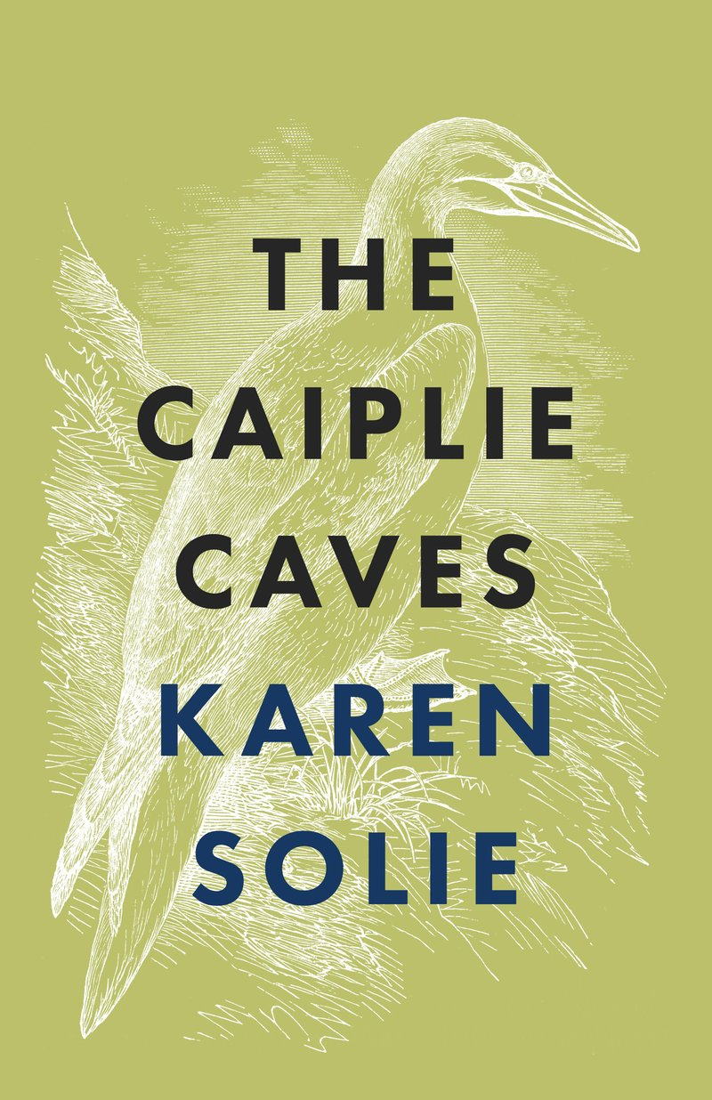 Book Cover for the novel The Caiplie Caves, from author Karen Solies