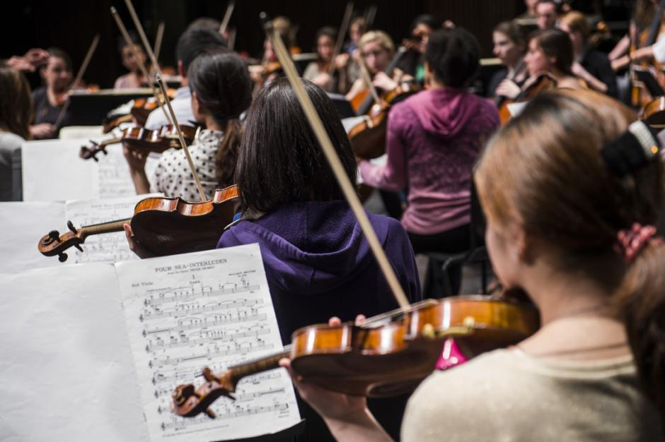 Youth Orchestra Symposium at Banff Centre