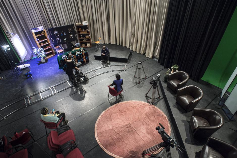 Rice TV Studio, Jeanne and Peter Lougheed Building, Banff Centre