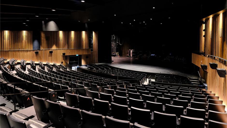 Encompassing view of Jenny Belzberg Theatre