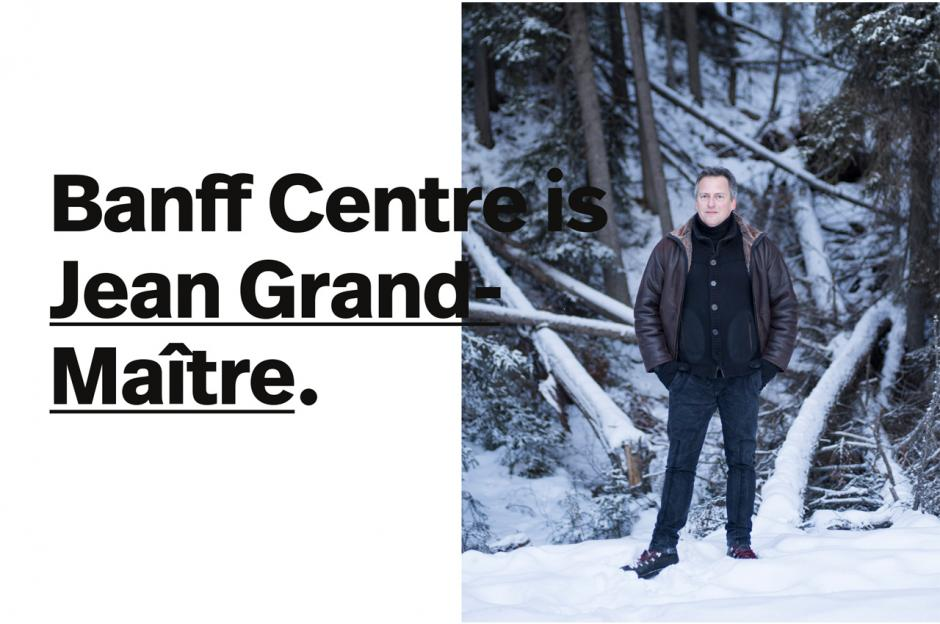 Jean Grande-Maître graphic with text overlay.