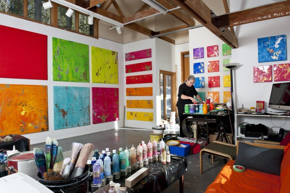 Erol Lee-Fullen in the Gerin-Lajoie Studio