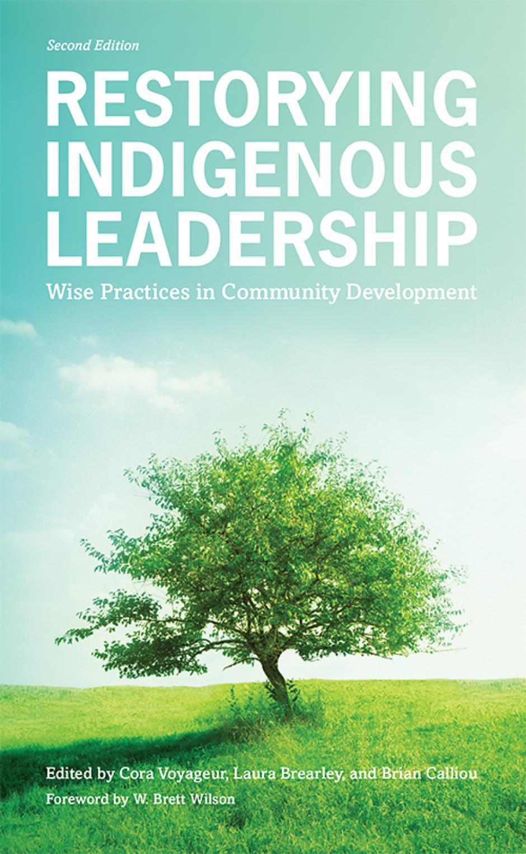 Book cover of Restorying Indigenous Leadership