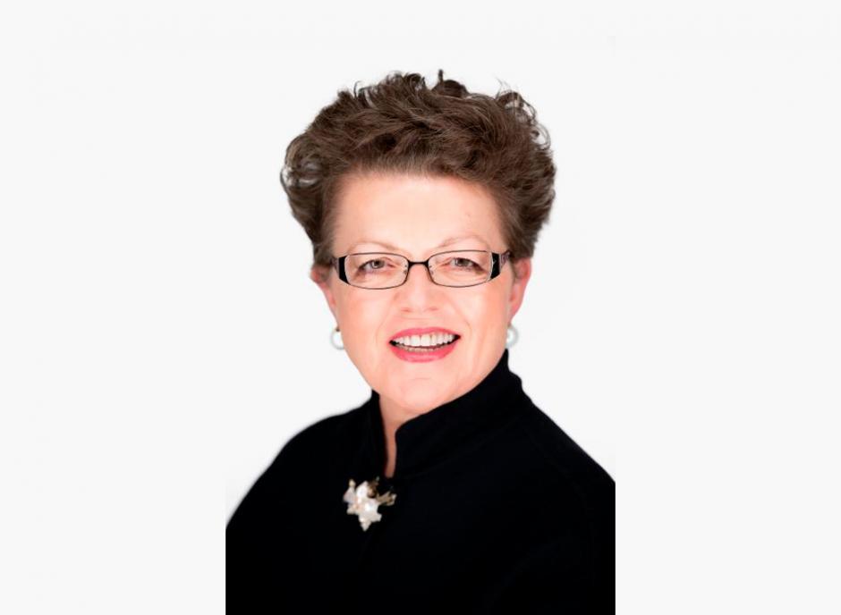 Portrait of Banff Centre governor Lis Welch