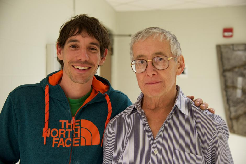 Taking on the World Tour With My Co-Author, Alex Honnold