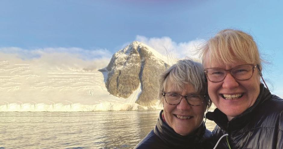 Festival Grand Prize Trip to Antarctica, Mother/Daughter. Photo by Corrie Wedel.