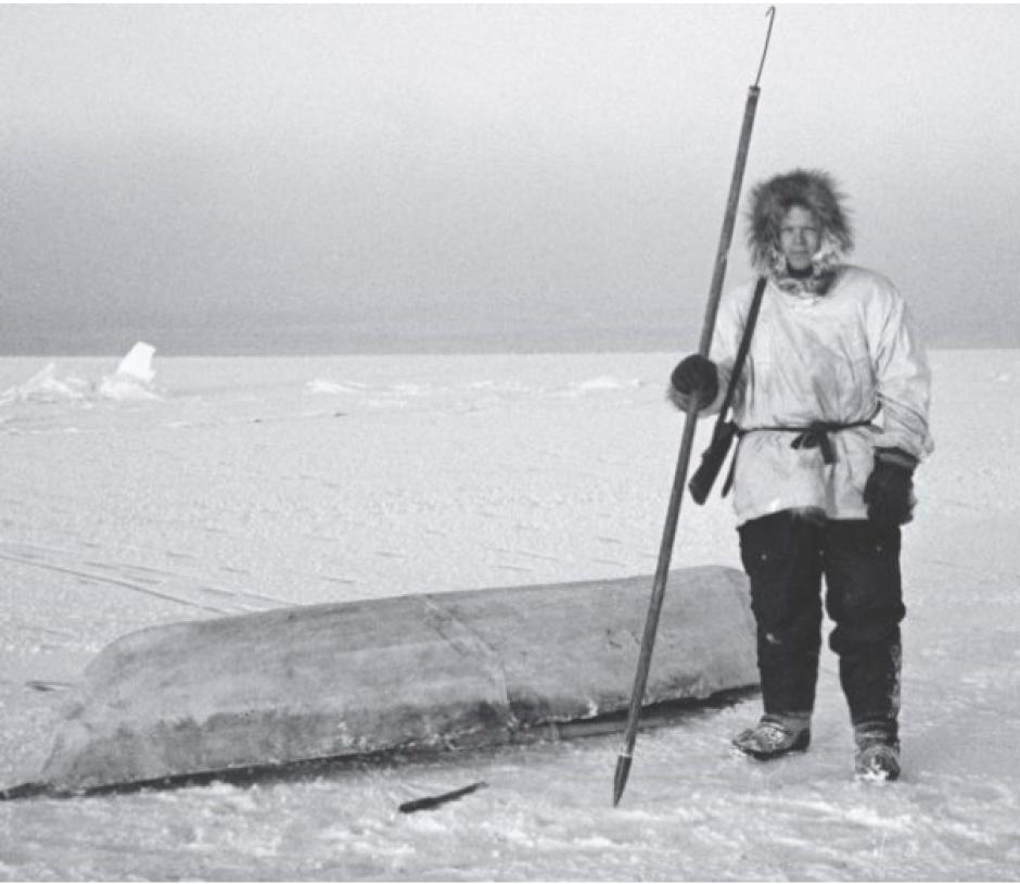 Richard K. Nelson exploring Alaska