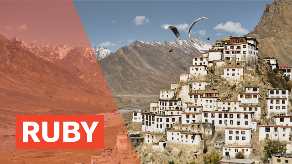 Virtual World Tour Ruby Program, From the film Fly Spiti