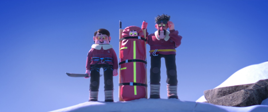 Image from the film Hors Piste