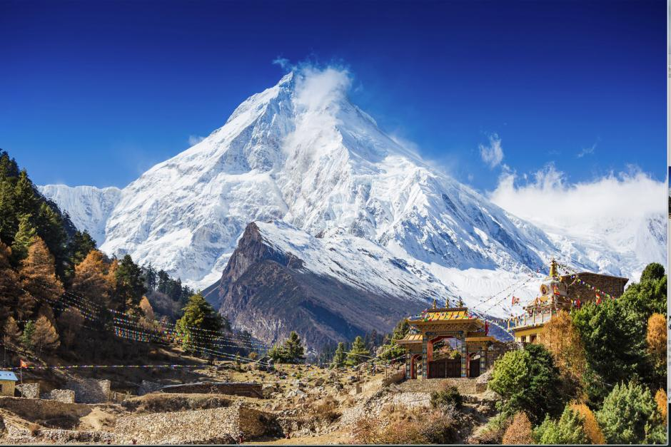 Image from the film Manaslu – Mountain of the Spirits