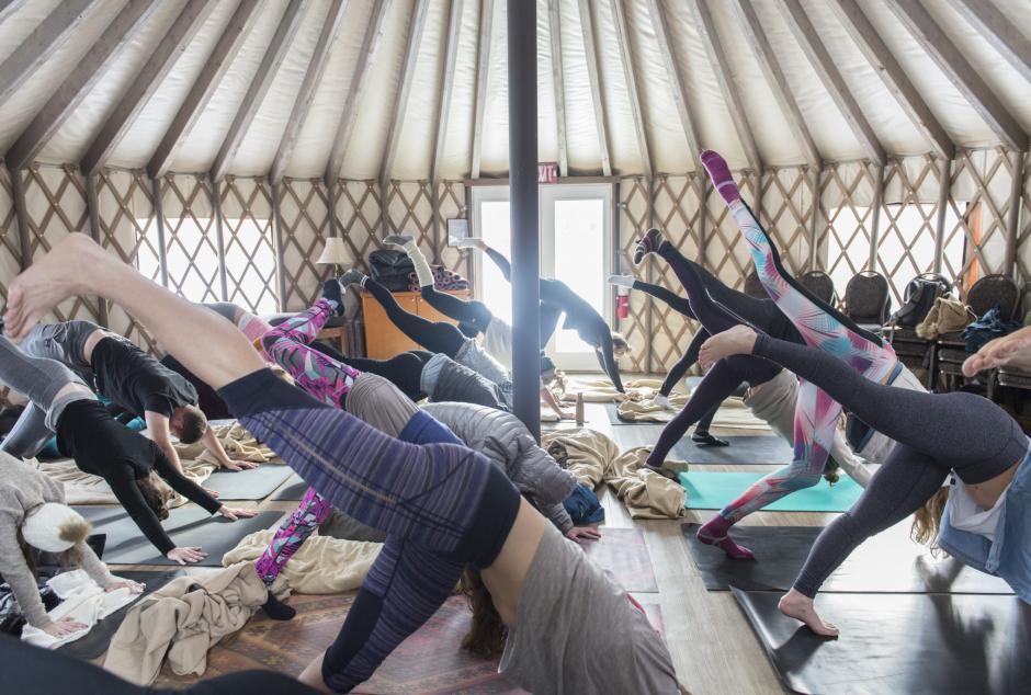 Festival Yurt Yoga 2017