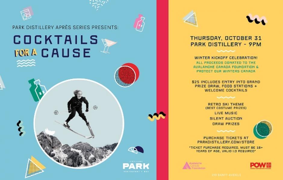 Park Distillery Après Series Presents: Cocktails for a Cause
