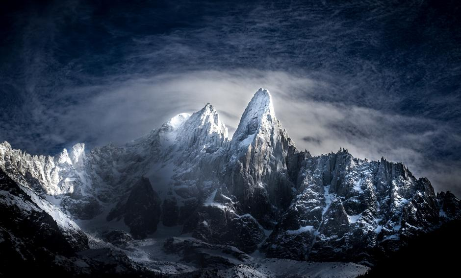 2015 Banff Mountain Film and Book Festival Signature Image: Les Drus, Chamonix, France by Soren Rickards