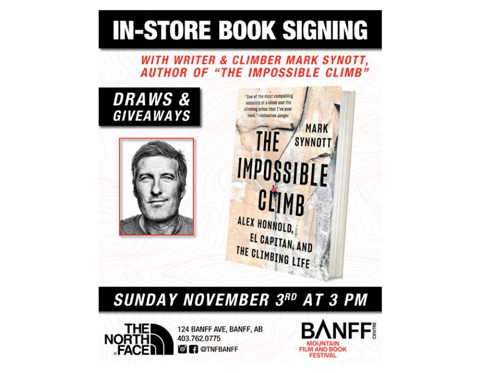 Mark Synnott: The Impossible Climb Book Signing