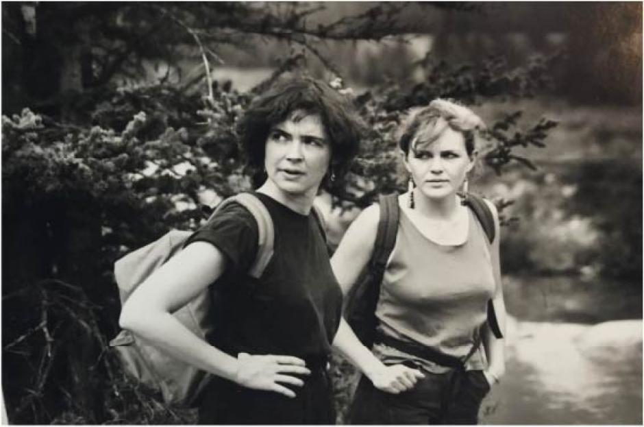 Laura Millard and Medrie MacPhee