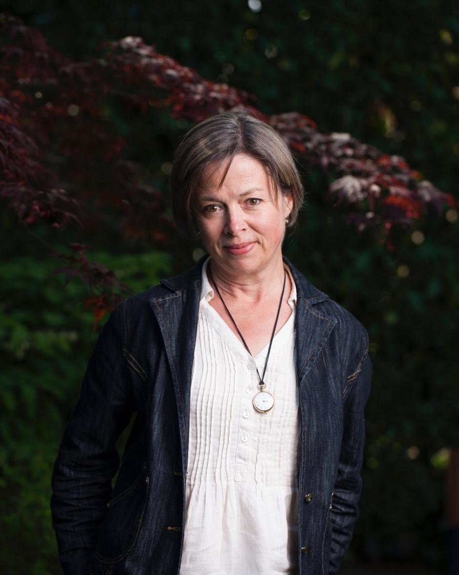 Author Caroline Adderson.