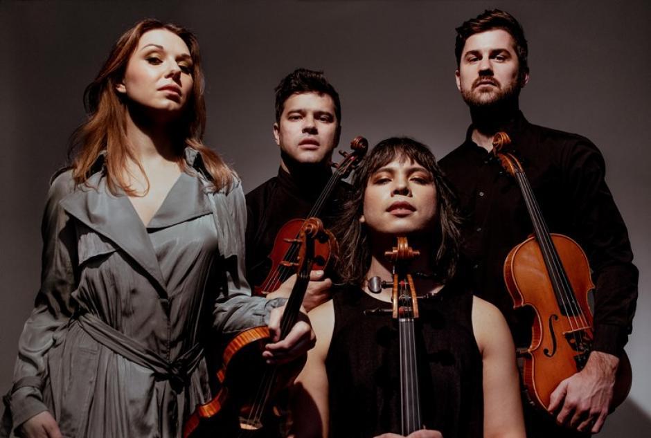 Attacca Quartet, Photo by David Goddard