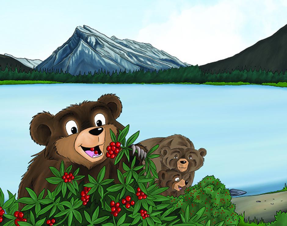 "Parks Canada Presents A Beary, Berry Good Day/Une ""baie"" bonne Journée"