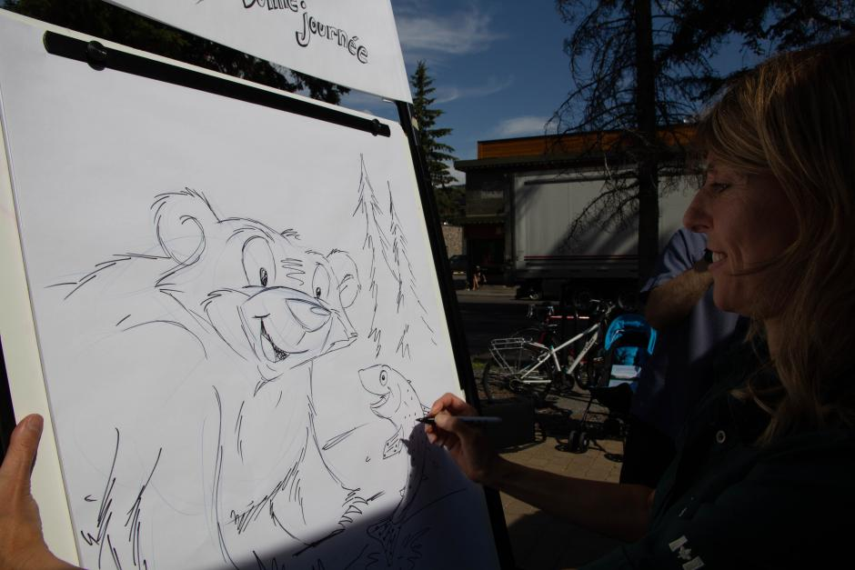 Parks Canada Presents: Learn how to draw Ursa the Grizzly
