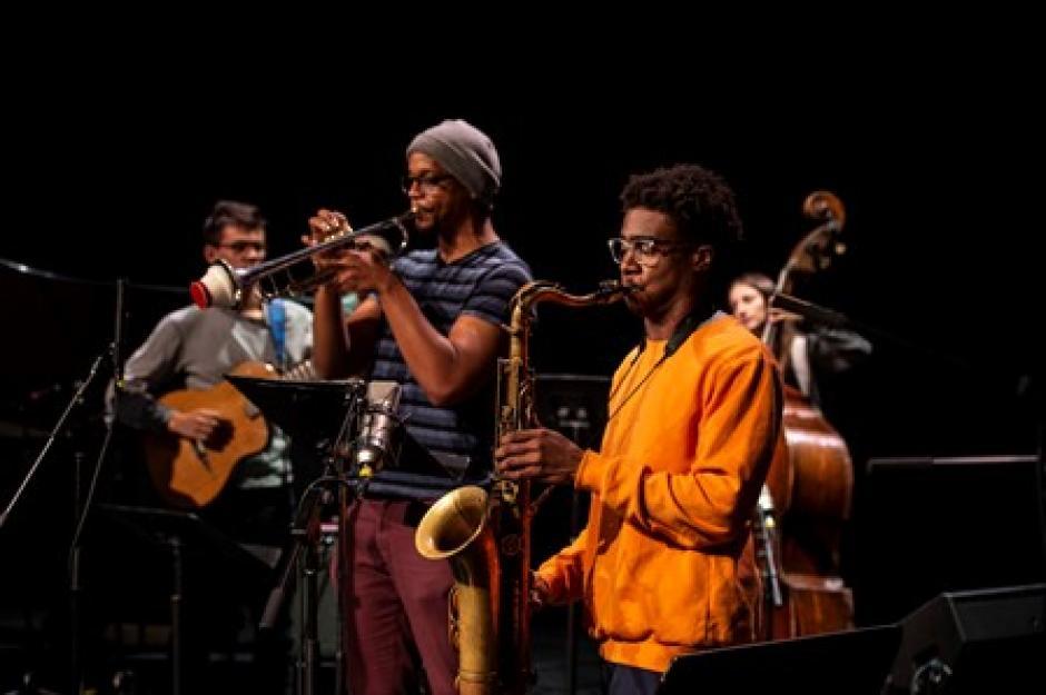 Banff Jazz participants perform.