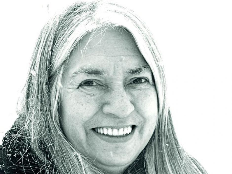 Lee Maracle, University of Toronto instructor and indigenous mentor smiles for a head shot.
