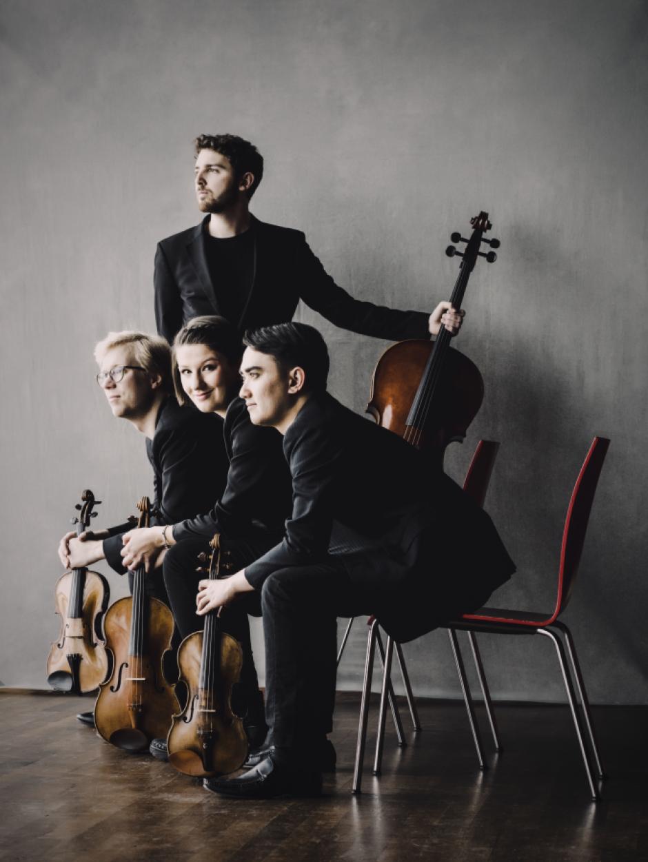 Marmen Quartet. Photo by Marco Borggreve