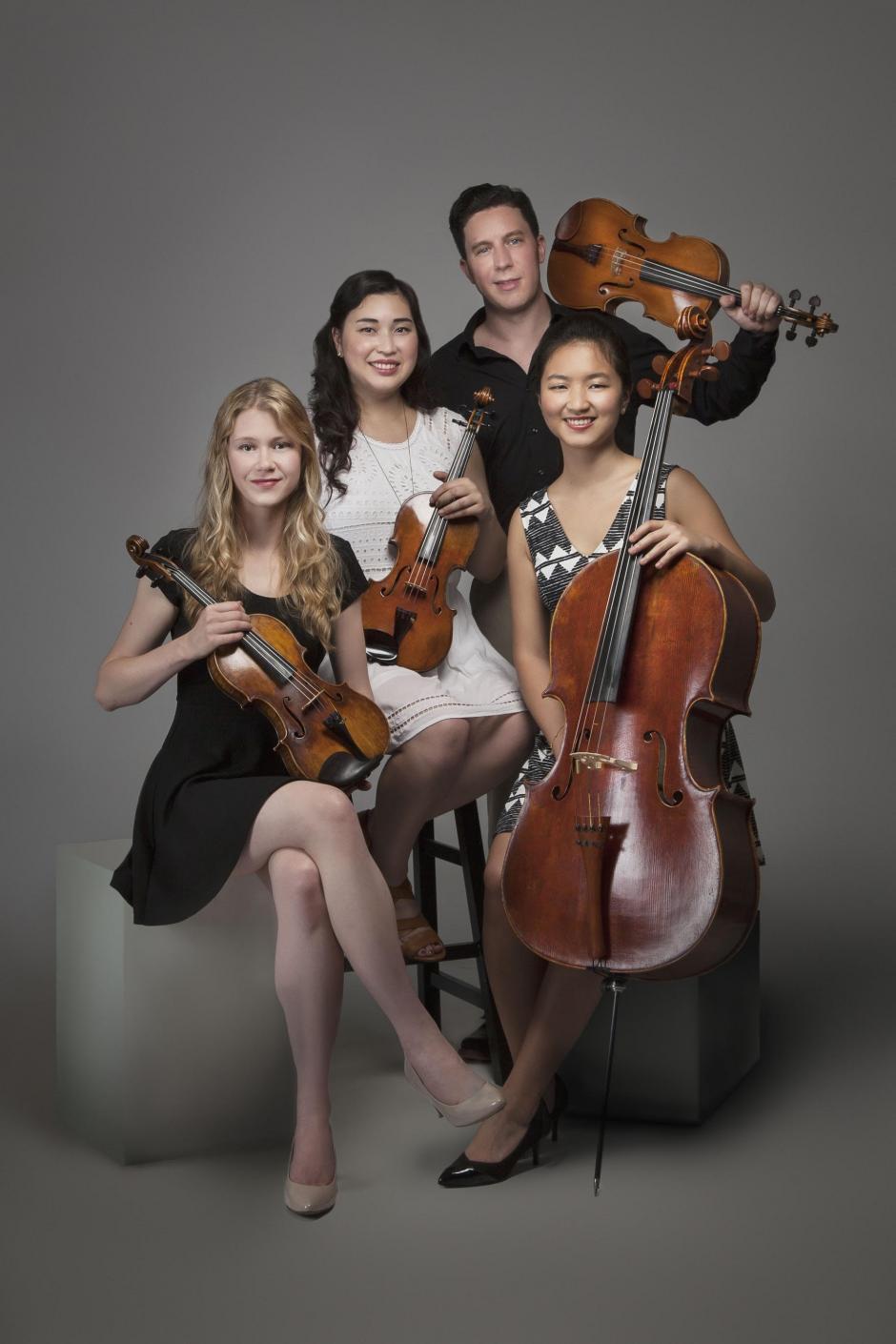 Ulysses Quartet. Photo by Matthew Holler