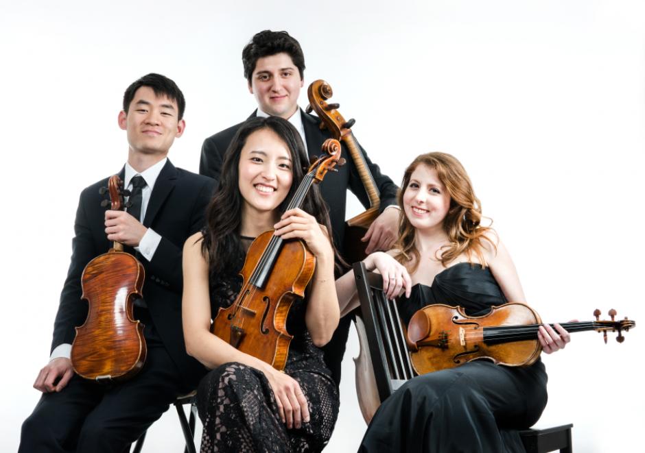 Omer Quartet. Photo by Matt Dine