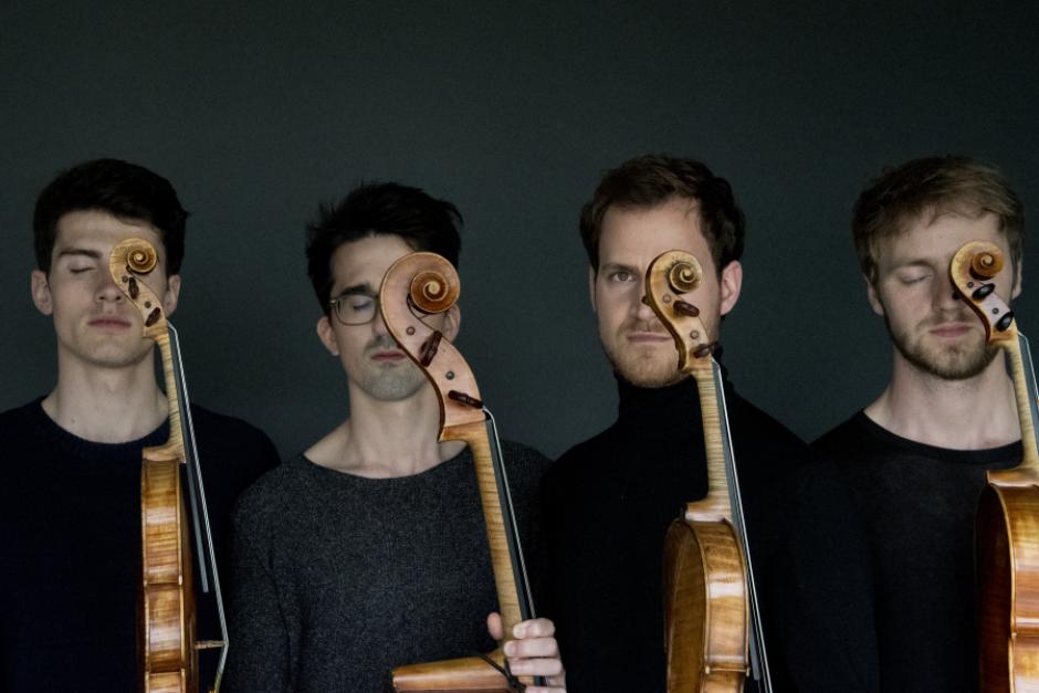 Quatuor Agate. Photo by Neda Navaee
