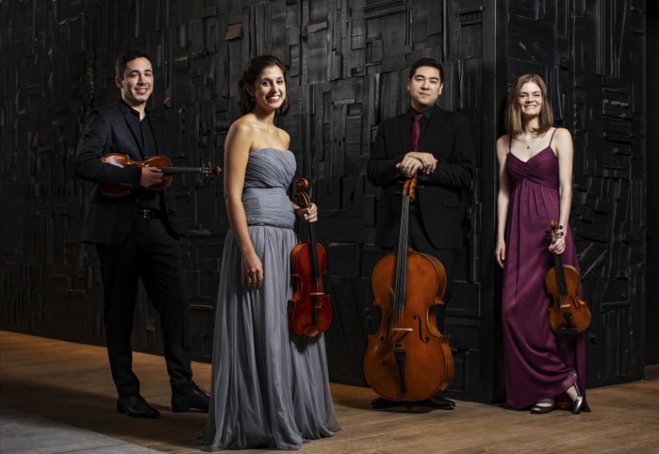 Vera Quartet. Photo by Ryan Brandenberg