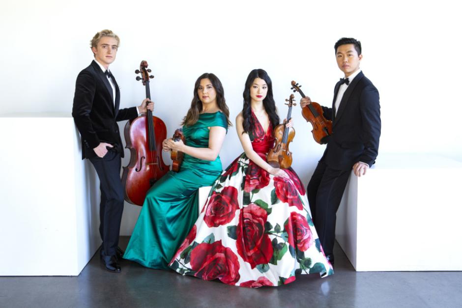Viano String Quartet. Photo by Jeff Fasano Photography