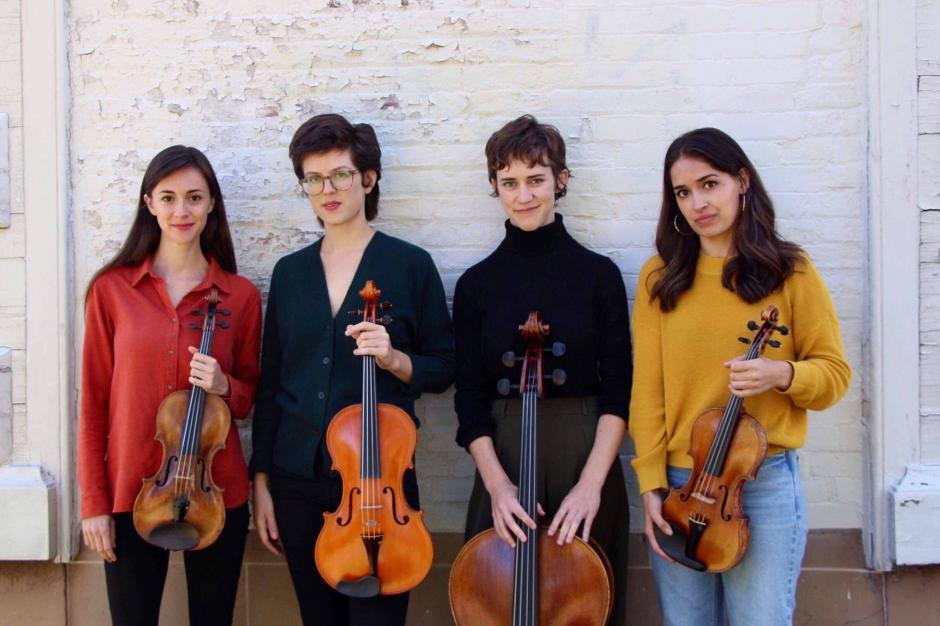 Evolution: Quartet, Image Courtesy Desdemona Ensemble