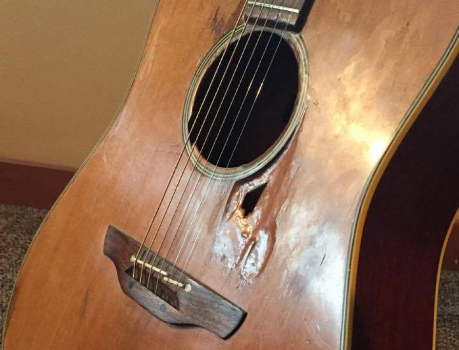Sean McCann's guitar