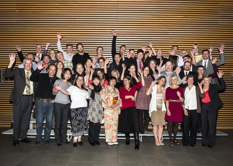 Employee Service Celebration Group Photo