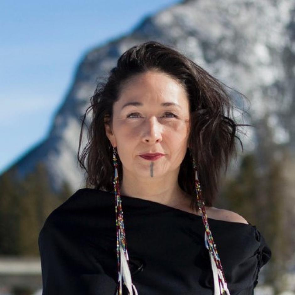 Reneltta Arluk, director of Indigenous Arts, Banff Centre
