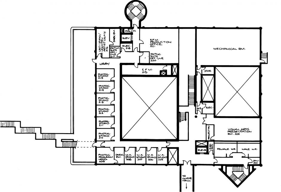 The Crich Studio Floorplan