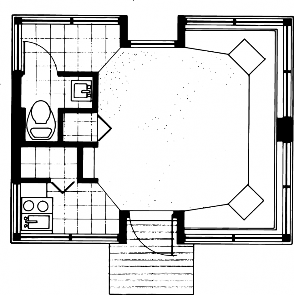 The Evamy Studio Floorplan