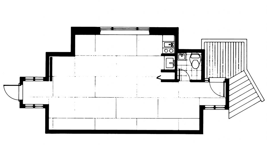 The Gerin-Lajoie Studio Floorplan