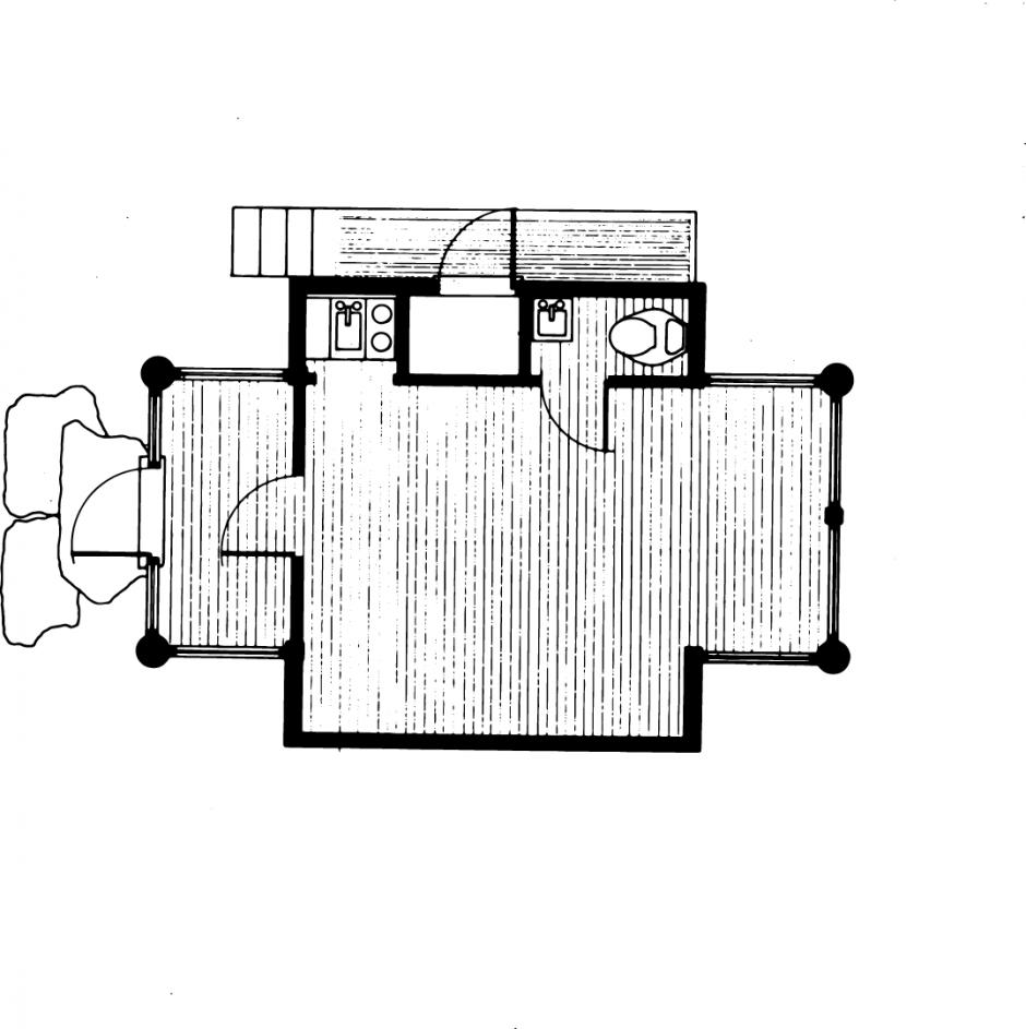 Valentino Studio Floor Plan