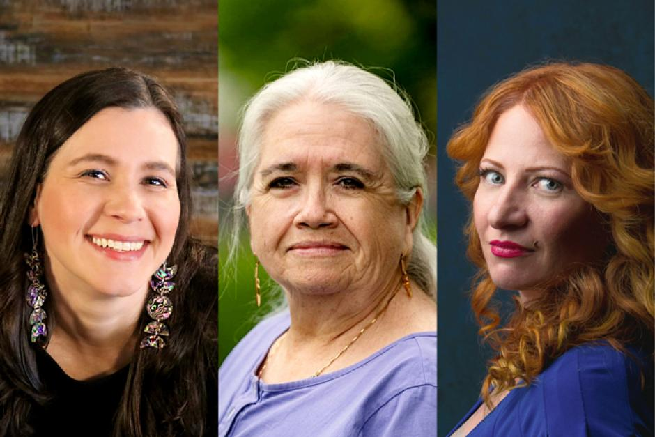Three faculty members for Emerging Writers 2021