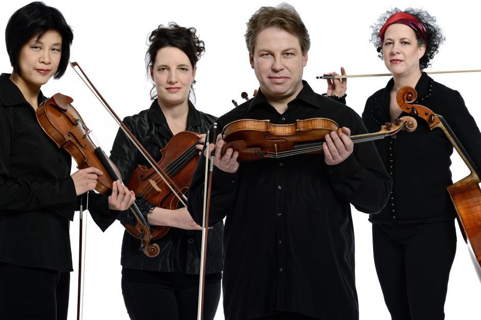 Quatuor Bozzini, Banff Centre Summer Music EQ: Evolution of the String Quartet faculty