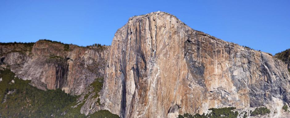 Google's first vertical Street View used climbers Alex Honnold and Tommy Caldwell to map The Nose on El Capitan