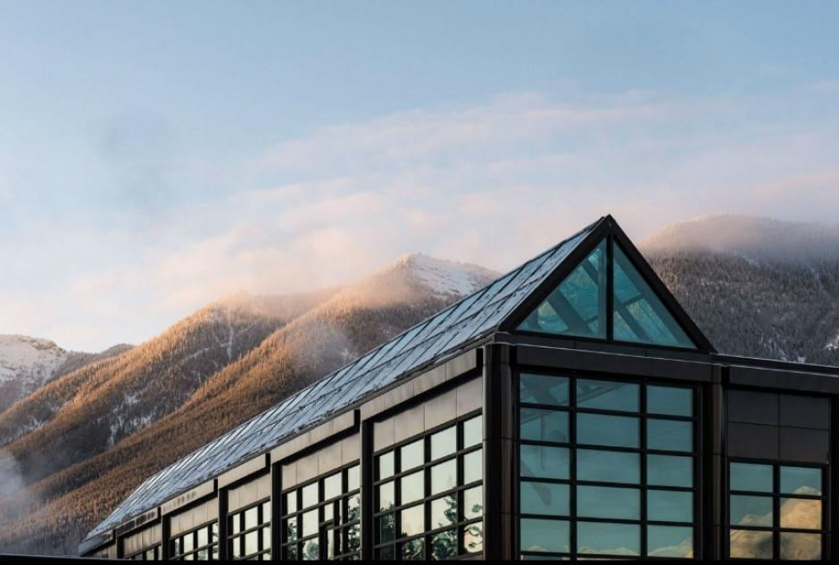 Jeanne and Peter Lougheed Building, Banff Centre.